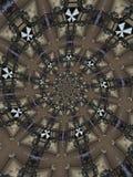 抽象圆的模式 库存照片
