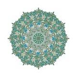 抽象圆的模式 库存例证