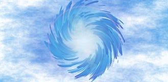抽象圆的漩涡冲程背景墙纸 库存图片