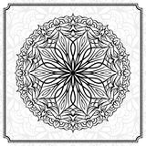 抽象圆的设计元素 库存照片