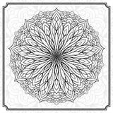 抽象圆的设计元素 图库摄影