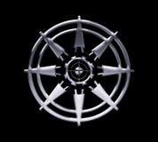 抽象圆的设计 免版税库存照片