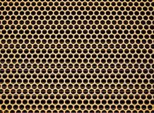 抽象圆的铅板合金 图库摄影