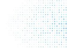 抽象圈子映象点马赛克背景 免版税库存照片
