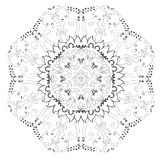 抽象圈子模式 库存照片