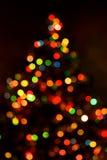 抽象圣诞树背景 免版税库存照片
