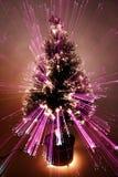 抽象圣诞树迅速了移动 库存图片