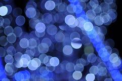 抽象圣诞灯 库存图片