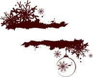 抽象圣诞节框架 皇族释放例证