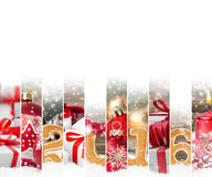 抽象圣诞节混合 免版税库存照片