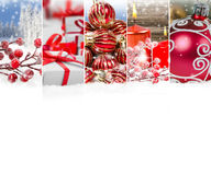 抽象圣诞节混合 库存图片