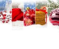 抽象圣诞节混合 免版税库存图片