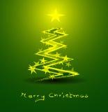 抽象圣诞节背景 免版税库存照片
