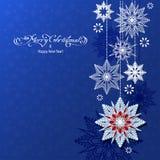 抽象圣诞节背景 皇族释放例证