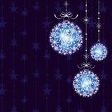 抽象圣诞节装饰品 免版税库存照片