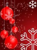 抽象圣诞节 免版税库存图片