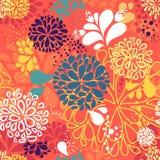 抽象在形状的传染媒介五颜六色的乱画  免版税库存照片