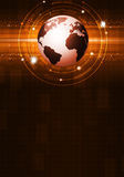 抽象地球企业背景 免版税库存照片
