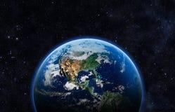 抽象地球地面图象行星平稳的表面 库存照片