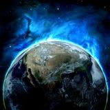 抽象地球地面图象行星平稳的表面 免版税图库摄影