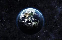 抽象地球地面图象行星平稳的表面 图库摄影