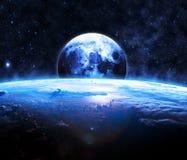 抽象地球地面图象行星平稳的表面 库存图片