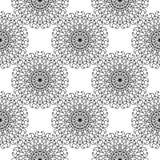 抽象坛场无缝的样式 免版税库存图片