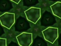 抽象坛场背景不对称的六角形 图库摄影