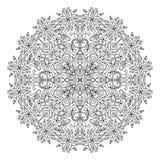 抽象坛场zentangle 库存图片