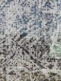 抽象塑料无缝的方形的样式 免版税库存图片