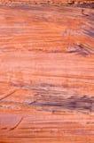 抽象墙壁关闭的片段铁锈 库存照片