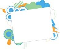 抽象墙纸 免版税库存照片