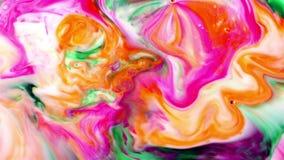 抽象墨水油漆爆炸疾风 库存例证