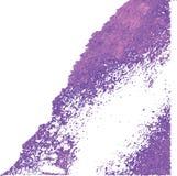 抽象墨水弄脏传染媒介 库存图片