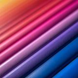 抽象多彩多姿的铅笔 库存图片