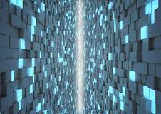 抽象多维数据集对称 库存照片