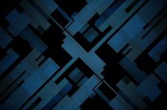 抽象多维数据集老纹理墙壁 免版税库存图片