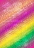 抽象多色线和光晕background_02 免版税图库摄影