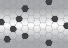 抽象多角形有背景 免版税库存照片