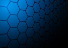 抽象多角形背景传染媒介例证 免版税库存照片