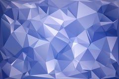 抽象多角形背景 未来派样式 E r 皇族释放例证