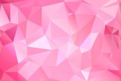 抽象多角形背景 未来派样式 E r 库存例证