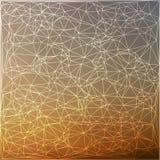 抽象多角形背景 库存例证