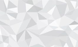 抽象多角形背景 向量例证