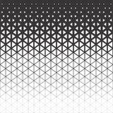 抽象多角形黑白图表三角样式 库存照片