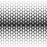 抽象多角形黑白图表三角样式 库存图片