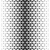 抽象多角形黑白图表三角样式 免版税图库摄影