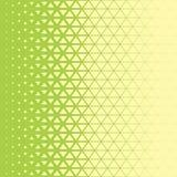 抽象多角形绿色和黄色图表三角样式 免版税库存图片