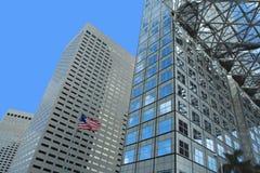 抽象大厦办公室 免版税库存图片
