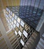 抽象大厦办公室 图库摄影